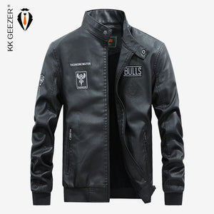 Motorcycle Leather Casual Jacket - MotorsLova | We serve real products for real bikers !