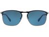 Persol 649 Series PO7359S 1071/56 Blue Light Blue Sunglasses 58MM