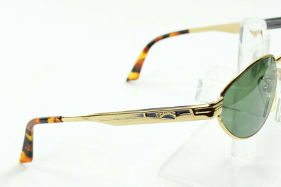 NOS Vintage Winchester Gold Oval Sunglasses Madera 52/17