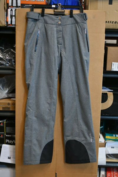 NWT Sunice Ski Snow Pants Grey Black Size 8 Primaloft