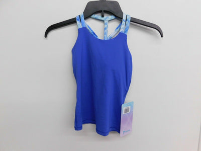 NWT Ivivva by Lululemon Give It Your All Tank Size 6 Blue Girls