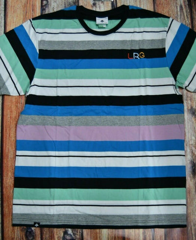 Lifted Research Group  LRG Size:  xLarge   T Shirt  Striped