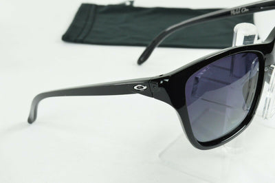 Display Mdl Oakley Hold On Polished Black Gray Polarized Sunglasses OO9298-06