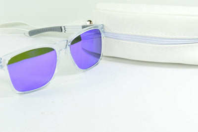 Display Model Oakley Catalyst Polished Clear Violet Iridium Sunglasses OO9272-05