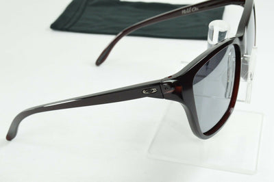 Display Model Oakley Hold On Frosted Rhone Black Iridium Sunglasses OO9298-04