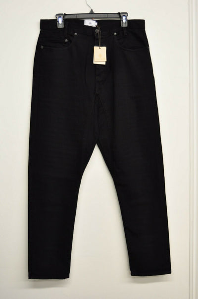 NWT Matiere Black Jeans Cotton USA Mens 34x32