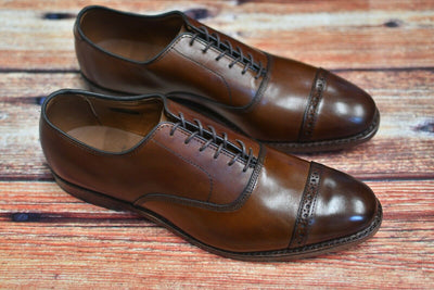 NEW Allen Edmonds Fifth Avenue Cap Toe Dark Chili 10.5 C Mens