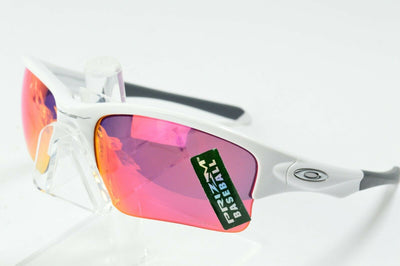 Display Md Oakley Quarter Jacket White Field Baseball Prizm OO9200-09 Sunglasses