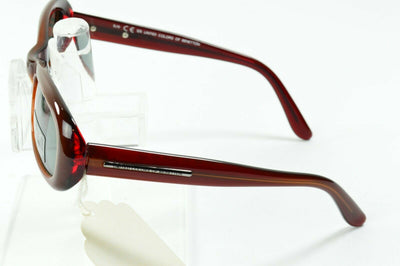 NOS Vintage United Colors of Benetton Youth Red Oval Sunglasses BEN308 780 45/18