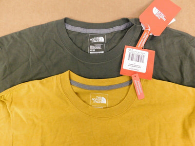 NorthFace  T  Shirt  (2 shirts)  Size: Medium  Standard Fit  Color:   Multi