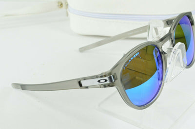 Display Model Oakley Latch Matte Gray Ink Sapphire Blue Polarized Sunglasses