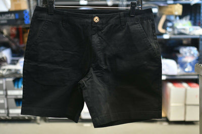 NWT Chubbies Black The Dark N' Stormy 7 inch Shorts Size 32