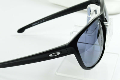 Display Model Oakley Sliver Matte Black Gray Lens OO9342-01 Sunglasses