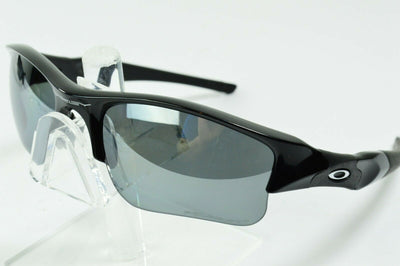 Display Model Oakley Flak Jacket XLJ Polished Black Iridium 12-903 Sunglasses