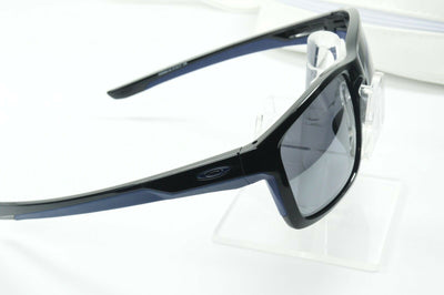 Display Mdl Oakley Mainlink Polished Black Navy Iridium OO9264-18 Sunglasses