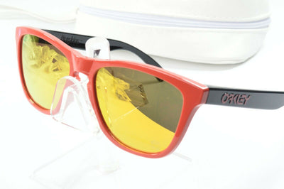 Display Mdl Oakley Frogskins Heritage Red Fire Iridium OO9013-34 Sunglasses