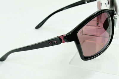 Display Model Oakley Step Up Polished Black Rose Polarized Sunglasses OO9292-03