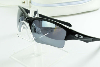 Display Model Oakley Quarter Jacket Polished Black Iridium OO9200-01 Sunglasses