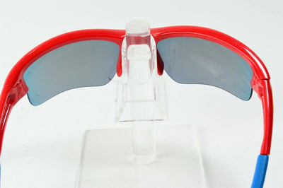 Display Md Oakley Quarter Jacket Red Blue Yellow Positive Iridium MPH Sunglasses