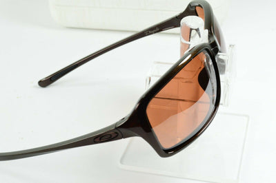 Display Model Oakley Dispute Chocolate Sin Vr28 Black Irid Sunglasses OO9233-03