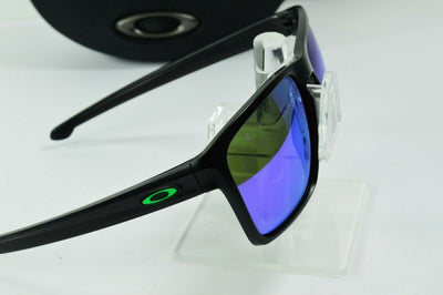 Display Model Oakley Sliver Matte Black Violet Iridium MPH Sunglasses