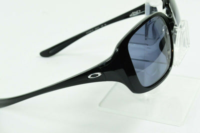 Display Mdl Oakley LBD Polished Black Gray Sunglasses OO9193-01