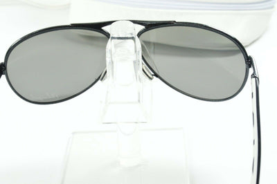 Display Mdl Oakley Feedback Black Metallic Iridium Aviator OO4079-05 Sunglasses