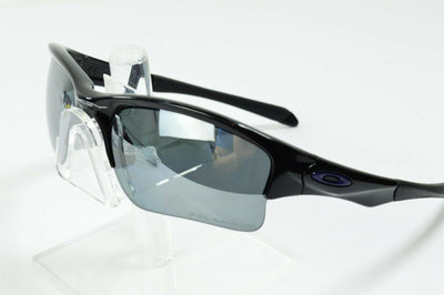 Display Md Oakley Quarter Jacket Polished Black Iridium Polarized MPH Sunglasses