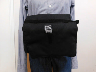 Porta Brace Case  Pack Bag  Color:  black nylon Canvas  Strap Camera Gear