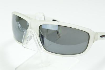 Revo Gust Matte Clear Graphite Polarized RE4072X 09 Sunglasses Display Model
