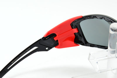 Revo Guide Extreme Black Red Polarized RE4063-01 Sunglasses Display Model