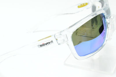 Revo Stern X Clear Blue Mirrored Polarized RE4056X 09 Sunglasses Display Model