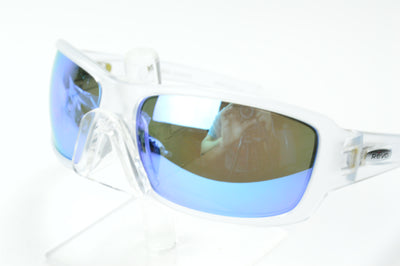Revo Bearing X Clear Blue Mirrored Polarized RE4057X 09 BL Sunglasses Display Model