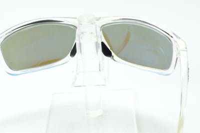 Revo Harness Clear Blue Mirrored Polarized RE4071 09 Sunglasses Display Model