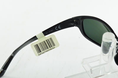 Maui Jim Twin Falls Gloss Black Neutral Gray Sunglasses MJ-417-02J