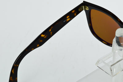 Ray-Ban Wayfarer RB2140 Tortoise Brown Polarized Lens Sunglasses Large B