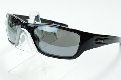 Revo Heading Mason Black Mirrored Polarized RE4058X 01 Sunglasses Display Model