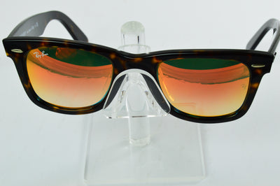 Ray-Ban Wayfarer RB2140 Tortoise Red Flash Lens Sunglasses