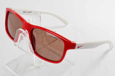 Nike Youth Champ Sunglasses Red White Square EV0815 651