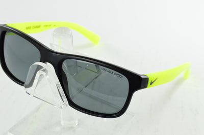 Nike Youth Champ Sunglasses Black Green Square EV0815 081