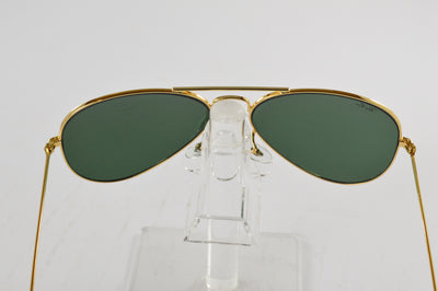 Ray-Ban Aviator Gold Green Classic G-15 Lens RB3025 L0205 58/14mm