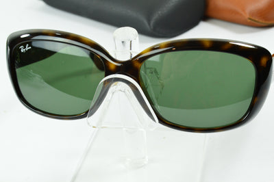 RayBan Jackie Ohh Tortoise Green Classic RB4101 710 Display Model