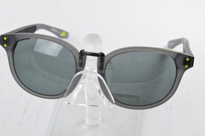 Nike Achieve Sunglasses Gray Green EV0880 003 Display Model SB