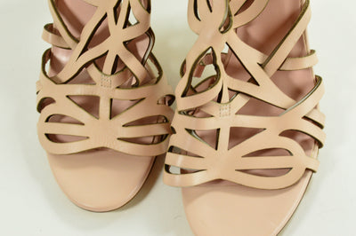 Kate Spade Heels 6.5B Italy Light Pink Strappy Sandals