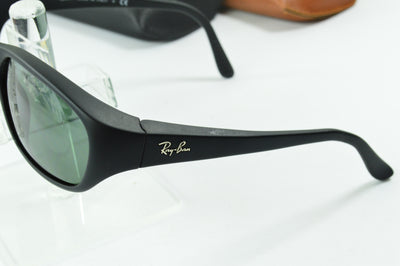 RayBan Daddy-O Matte Black Green G-15 RB2016 W2578 Display Model
