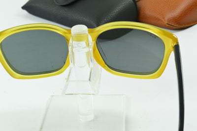 RayBan RB4197 Opal Yellow Gray Gradient RB4197 6043/6G Display Model