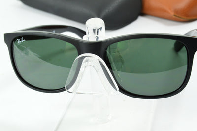 RayBan Andy Matte Black Green RB4202 6069/71 Display Model