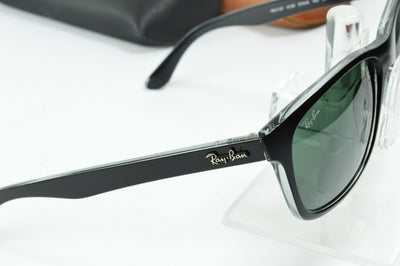 RayBan RB4181 Matte Black Gray RB4181 6130 Display Model