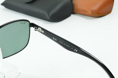 RayBan RB3533 Black Green Gradient RB3533 002/71 Display Model