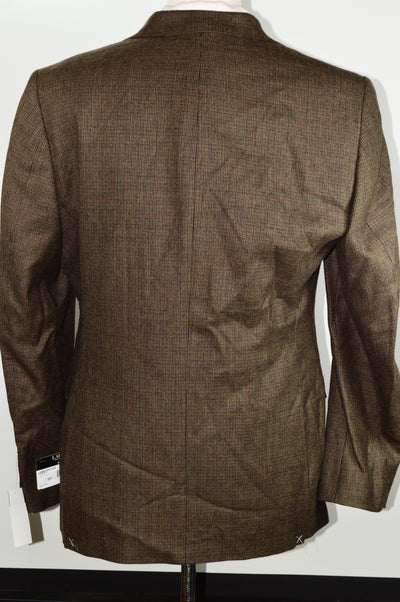 NEW Lauren Ralph Lauren Slim Fit Lubbock Blazer Brown 40R Check Ultraflex